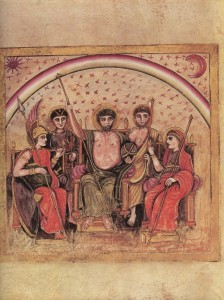 """Virgilio Romano: """"Concilio degli dei"""""""