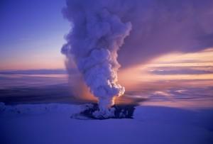 Il vulcano Grimsvotn in Islanda.