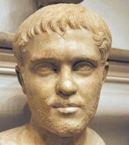L'imperatore Ostiliano.
