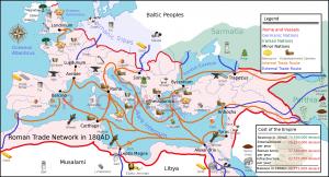 Il commercio romano nel III secolo.