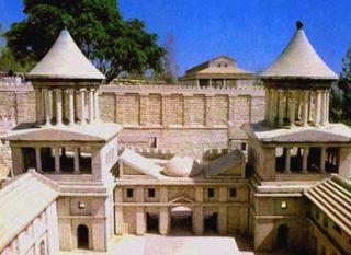 Ricostruzione del palazzo degli Asmonei a Gerusalemme.